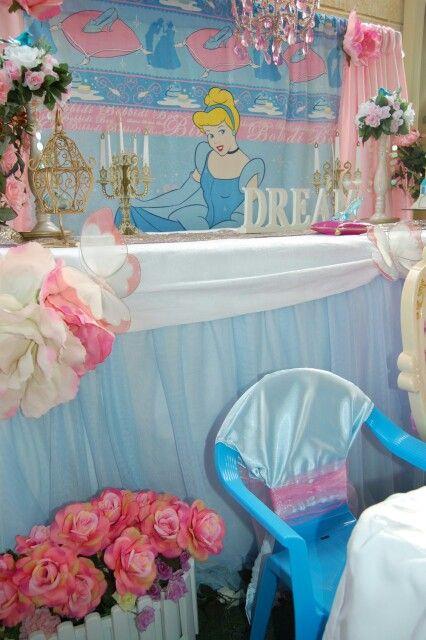 Cinderella cake table