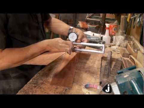 JADIEL LUTHIER-construção violão folk 12 CORDAS - YouTube