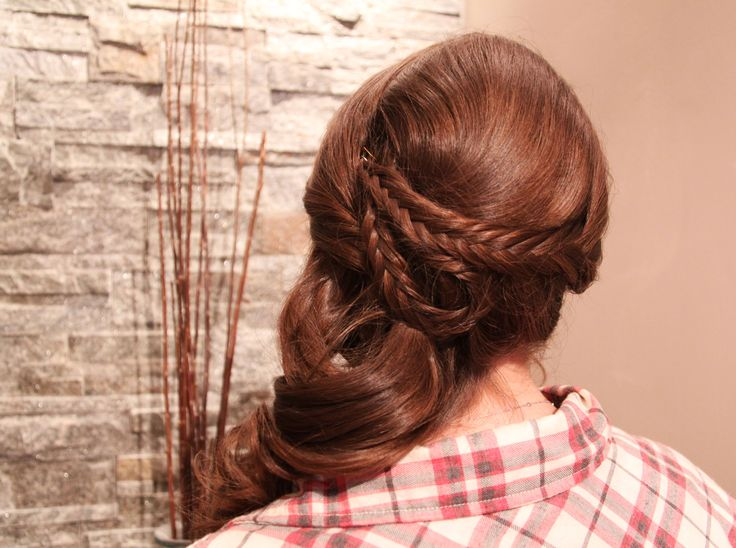 Side swept up-style for prom 2014 at Fortelli Salon & Spa Mississauga! Thanks Nicole for the photography.