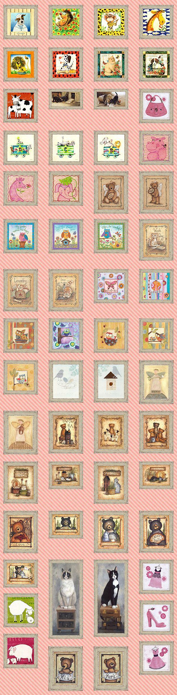 Tante idee di stampe country per le camerette dei bambini. http://www.cornicishop.com/categoria-prodotto/country/bambini/