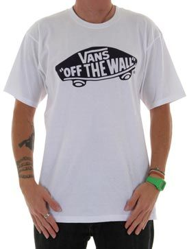 Vans Off The Wall White T-shirt