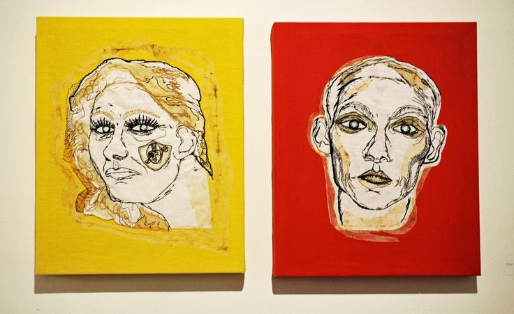 """Opere esposte alla mostra """"Artisti in_Galleria"""""""