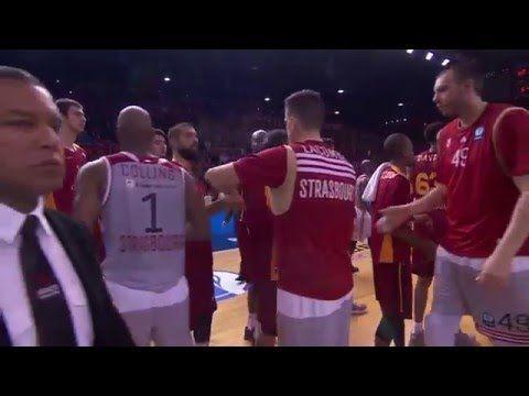 Eurocup Finale 2016: Galatasaray Istanbul gegen Straßburg (Spiel 1) – www.bballvideos.de