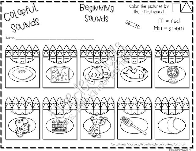 Cool Monday April 7 2014 Math Worksheets For Preschool Free ...