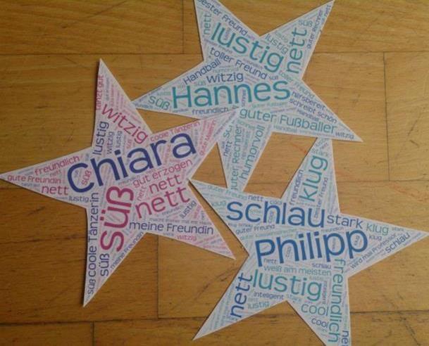 Zum Abschied für die vierte Klasse: ein Geschenk zum Zeugnis - ganz persönlich und einfach selber gemacht!