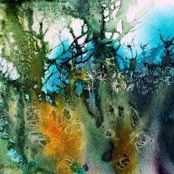 Hedgerow Tangles - Ann Blockley paintings