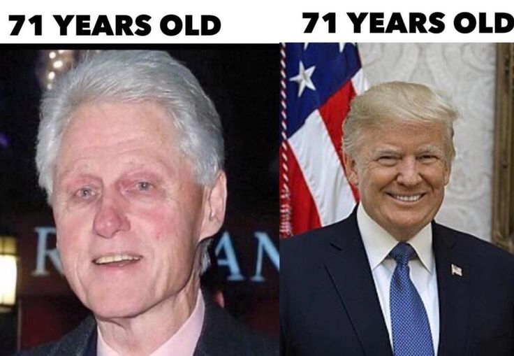 Maybe Clinton should get a spray tan and get some yellow hair