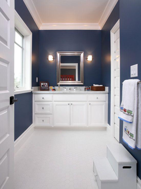 dark blue bathroom navy bathroom design pictures remodel