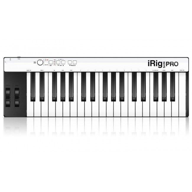 IK Multimedia iRig Keys Pro Controlador de Midi para Iphone, Ipad e MAC/PC - Teclas - Instrumentos Musicais