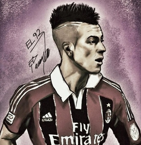 El Shaarawy drawing graphical
