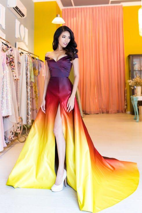 Miss Worlsvietnam 39 S Gown For Best World Dress Designer At
