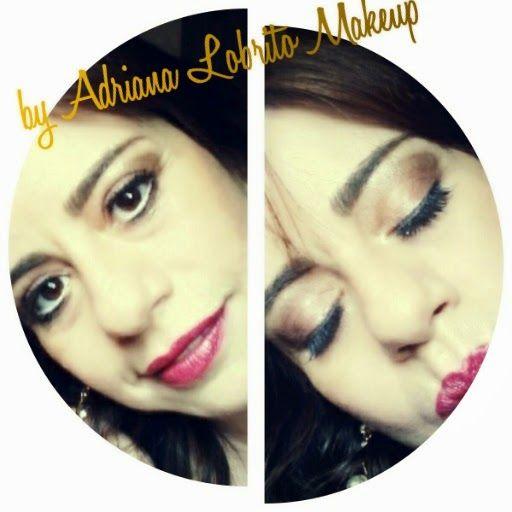 Adriana Lobrito Makeup e Dicas de Beleza!: Make com Sombra Cremosa Yes Cosmetics