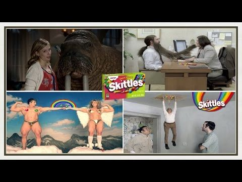 Top 20 Most Funniest Old Skittles Adverts - YouTube