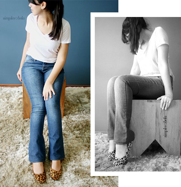 sapatilha oncinha, jeans e camiseta branca. simples. leopard flats, jeans, white tee. simple style. http://simpleness.com.br/