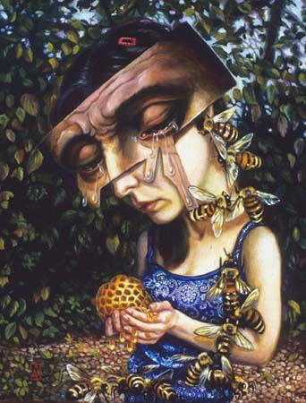 CARRIE ANN BAADE  http://kathrynvercillo.hubpages.com/hub/10-Stunning-Surrealist-Artists-from-the-Modern-Era