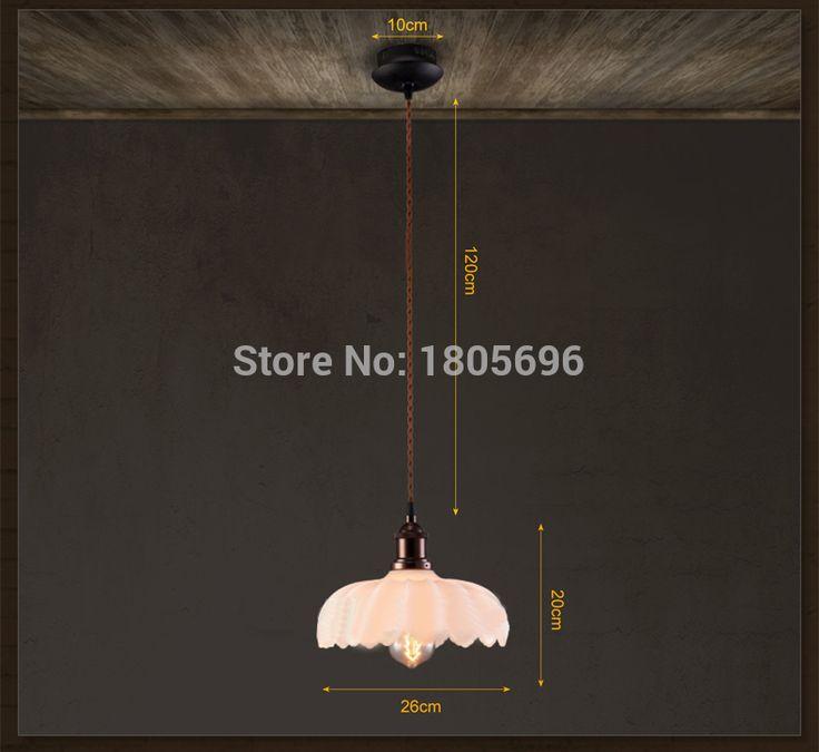 Alibaba グループ | AliExpress.comの ペンダント ライト からの Nordic Loft Vintage Wood Pendant Lights Red White Cord Pendant Lamps E27 Socket Wood Lampholder Suspension Hanging Lampa 中の シンプル な アメリカン スタイル村ヴィンテージランプ バー カフェ ダイニング ルーム ガラス蓮の ペンダント照明器具