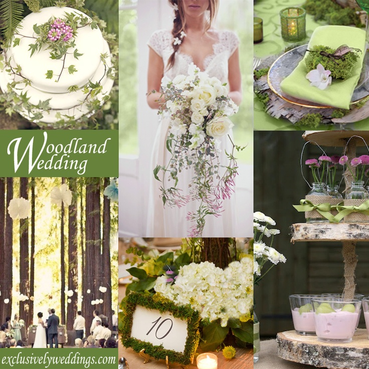 102 best woodland wedding ideas images on pinterest woodland woodland wedding theme exclusivelyweddings junglespirit Images