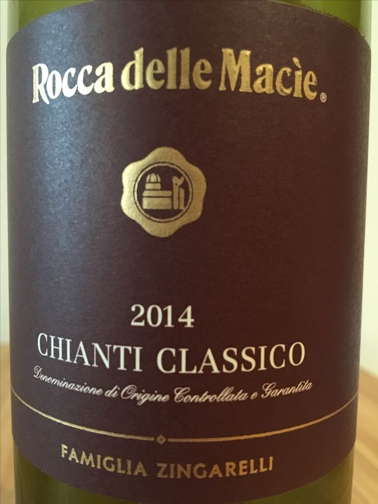 Rocca Delle Macíe 2014 | chianti | italy | 4.00 stars | can't remember but it was good