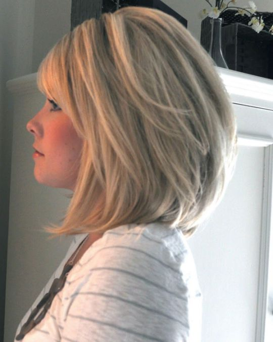 Shoulder Length Bob Hairstyles for Women | HairJos.com                                                                                                                                                      More