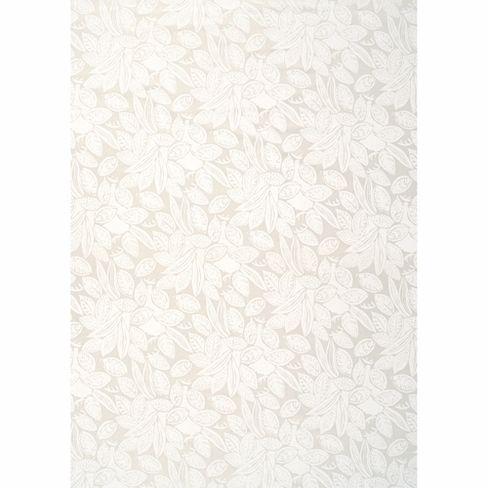 Marimekko Viikuna White PVC-Coated Cotton Fabric