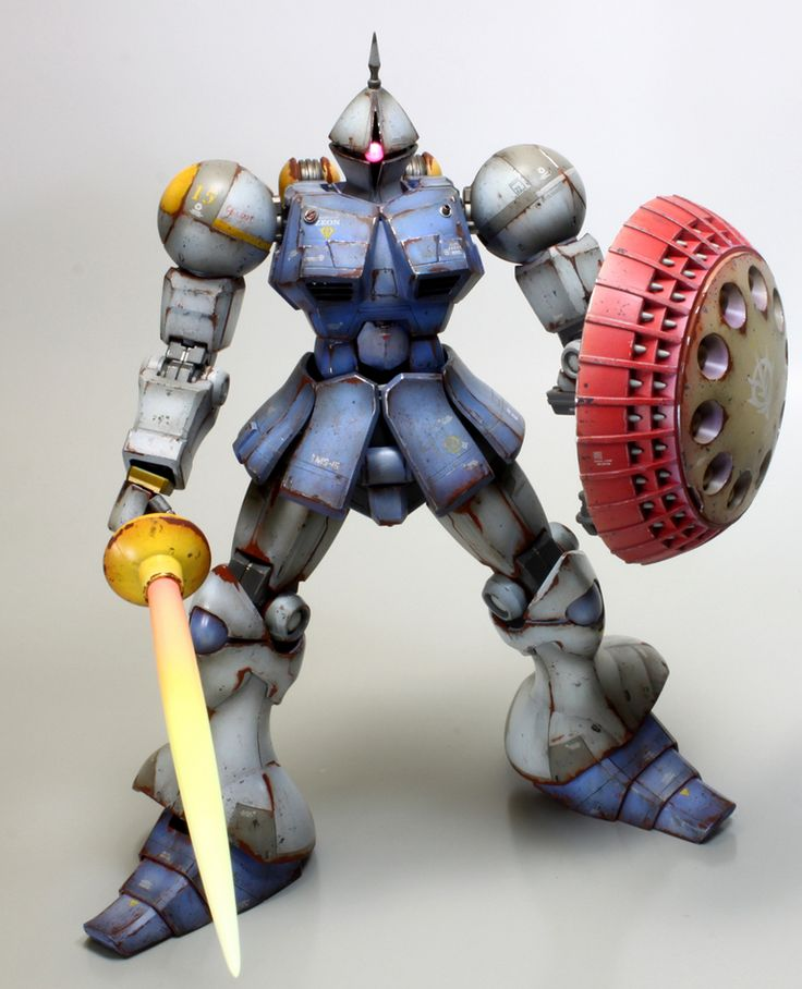 MG 1/100 YMS-15 Gyan with M'Quve: Work by modellover. Photoreview Big Size Images http://www.gunjap.net/site/?p=225484