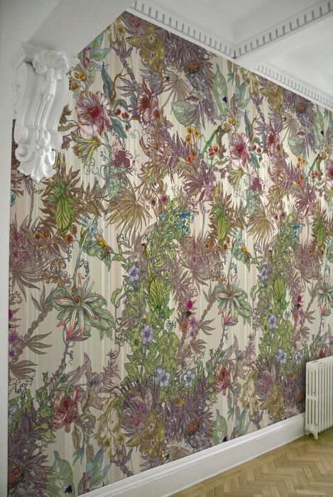 Timorous Beasties Wallcoverings - Opera Botanica