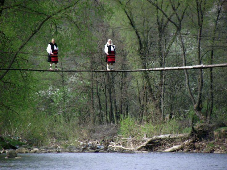Local bridge, Maramures. Romania. www.romaniasfriends.com