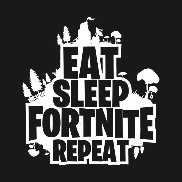 Eat Sleep Fortnite Fortnite Silhouette Cameo Projects Silhouette
