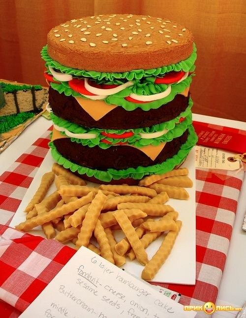 Mindless Mirth: Let Them Eat Cake II - yep, it's a real cake!