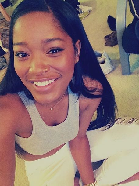 Keke Palmer..nose piercings