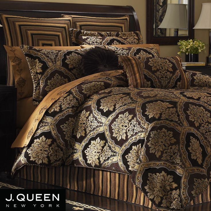 Hanover Damask Comforter Bedding By J Queen New York