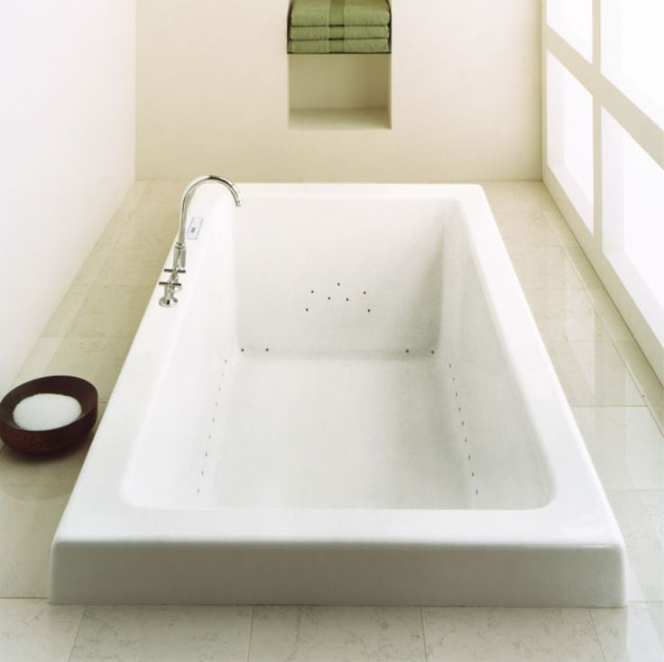 Great Produits Neptuneu0027s Rectangular Bathtub With Pure Lines, Straight Angles And  Contemporary Style / Zen Collection