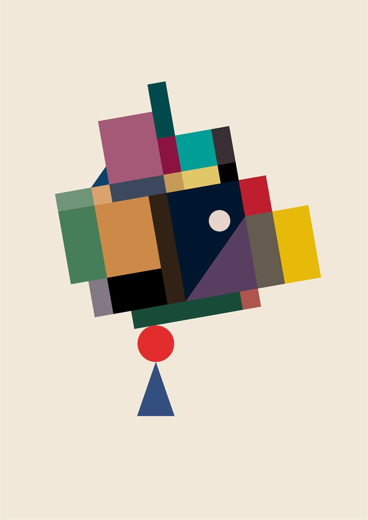 Geometric Compositions On Behance Composition Art Aesthetic Painting Composition