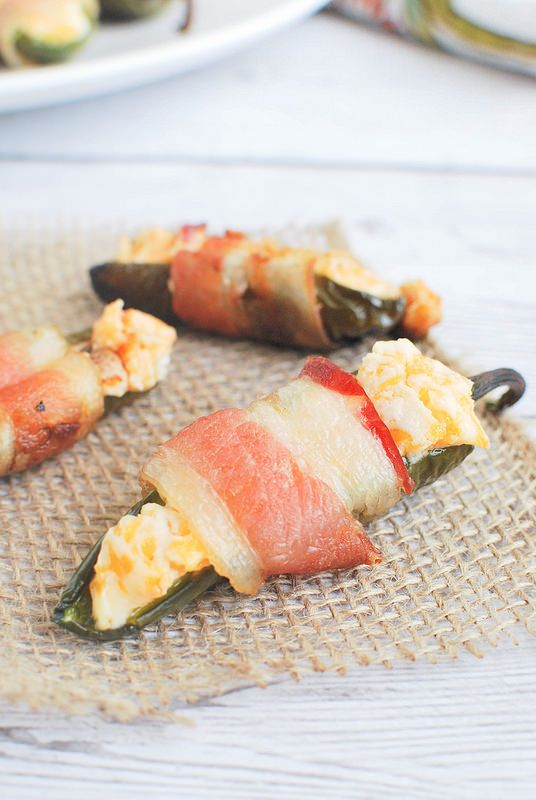 Grilled Bacon-Wrapped Jalapeno Poppers Recipe #BetterFathersDay
