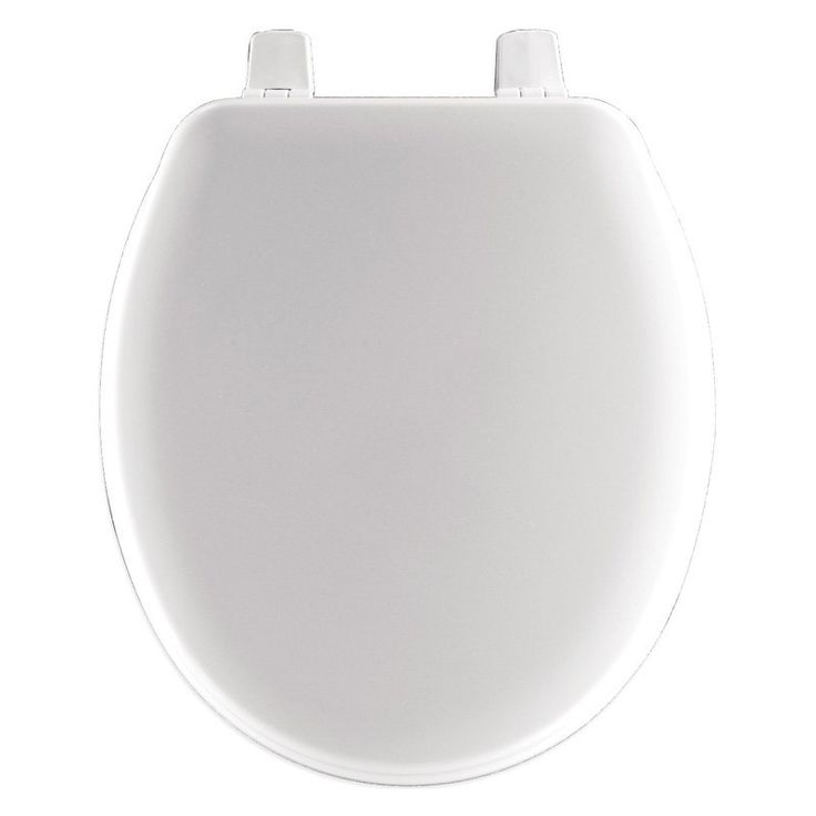 Bemis BBB540000 Primary Closed Front Child Toilet Seat in White - BBB540000