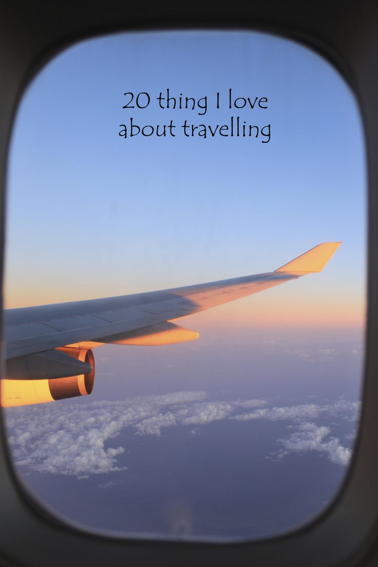20 things I love about travelling: http://aworldofbackpacking.com/20-things-i-love-about-travelling/