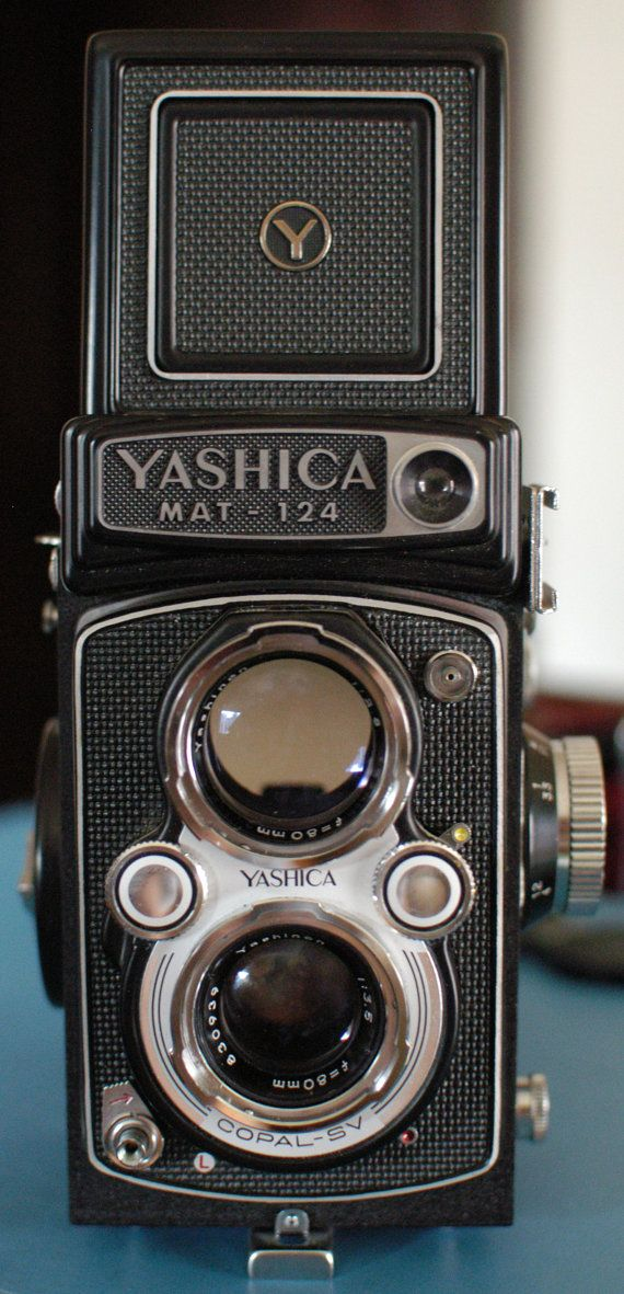 Yashica Mat124 Twin Lens Reflex Camera with Case.  by dailyshaffer, $120.00