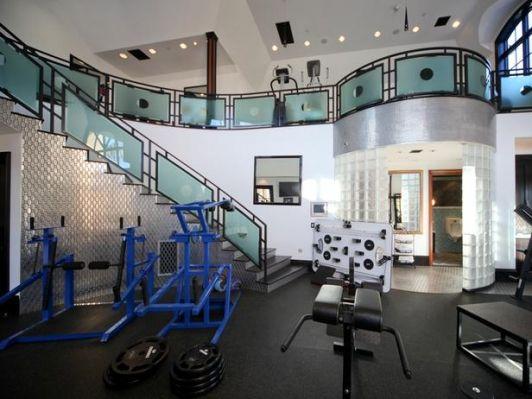 Attractive High End Home Gym   Home And Garden Design Ideas