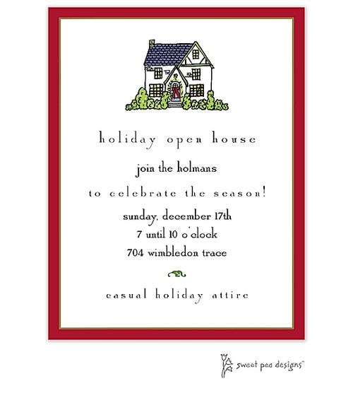 Best 25 Christmas open house ideas – Open House Party Invitation
