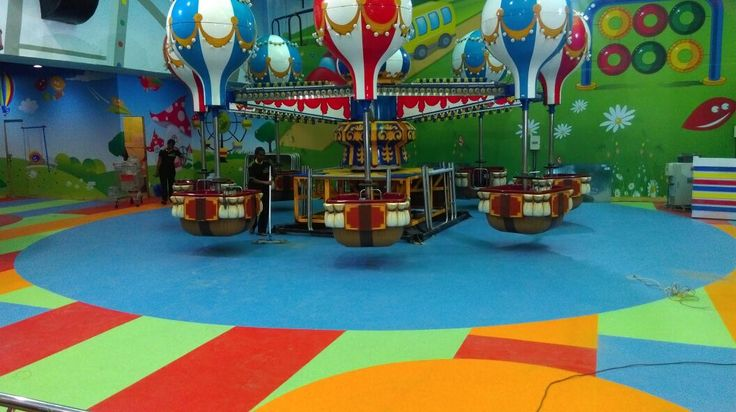 Fun City, Chennai Product used: IQ Granit  Area installed: 13,000sqft  6/6