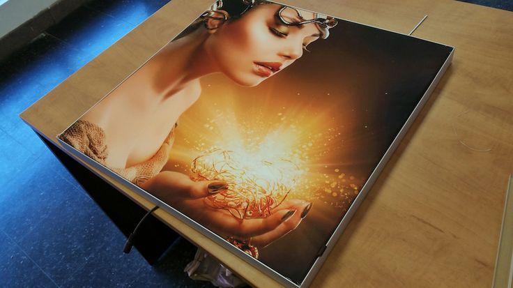 Ultra Thin LED Fabric Display - Complete