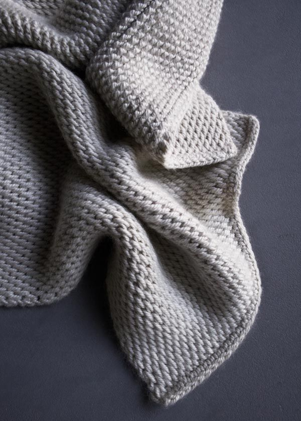 Tunisian Crochet Scarf | Purl Soho - Create