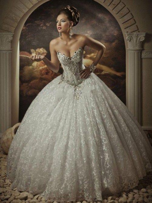 269 best Brautkleider images on Pinterest | Hochzeitskleider ...