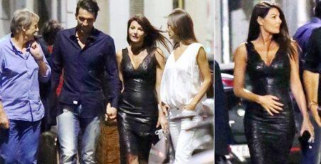Cicogna in arrivo per Ilaria D'Amico e Gigi Buffon?