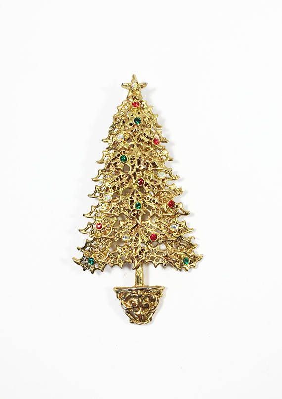 See new listings daily - follow us for updates.  Vintage TANCER II #Rhinestone Christmas Tree Pin, Winter Hat Flair, #Festive Gold Tone Red Green and Aurora Borealis, #Holiday Brooch, AB Christmas Pin, Christmas Tree Pin, Ch... #vintage #jewelry #teamlove #etsyretwt #bestofetsy #brooch #holiday #mimisjewelryboutique #rhinestone #festive ➡️…