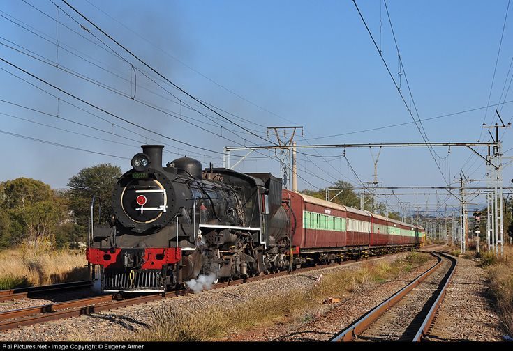 RailPictures.Net Photo: 3664 Friends Of The Rail Class 24 2-8-4 at Pretoria, Gauteng province, South Africa by Eugene Armer