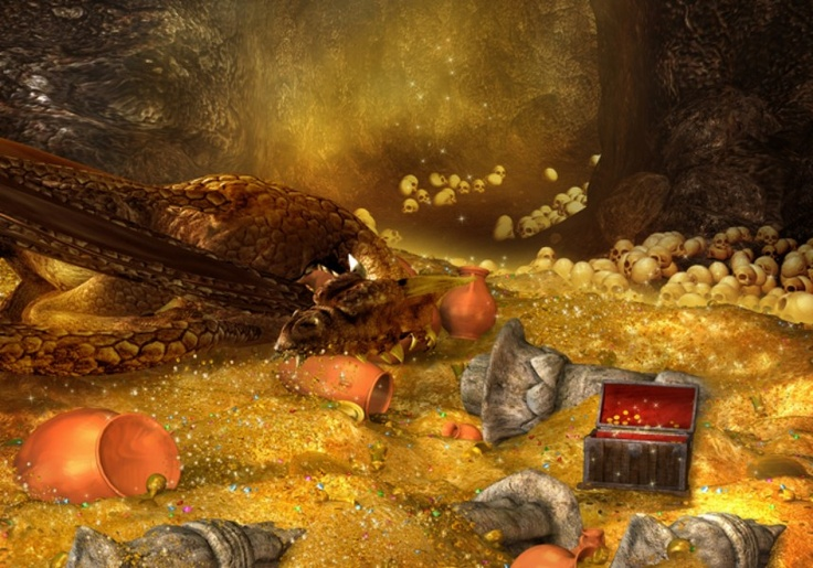 #1 on The 2012 Forbes Fictional 15, their annual list of fiction's richest is SMAUG!!! LOL