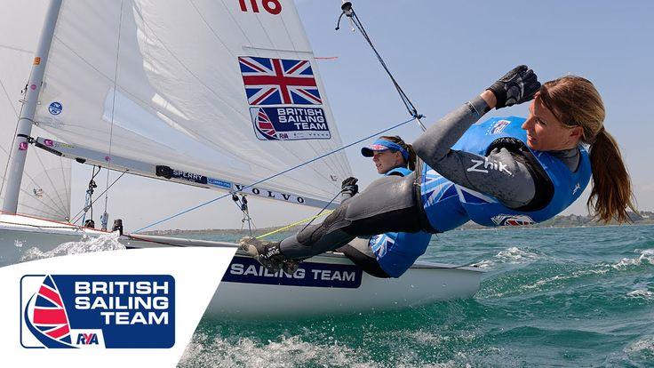 Olympics 2016 - Hannah Mills & Saskia Clark - 470 Women - British Sailin...