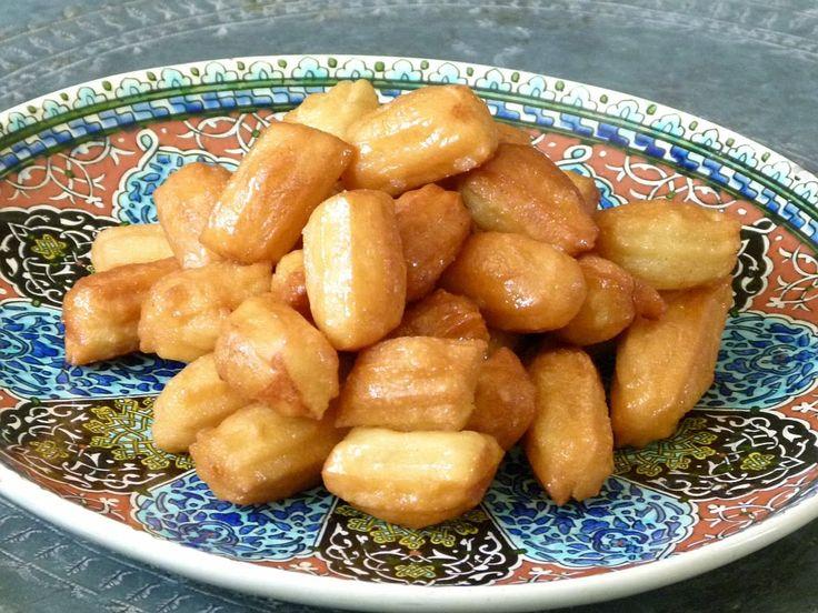 Ägyptische Rezepte - Balah El Sham - Lecker - Gebäck - Frittiert