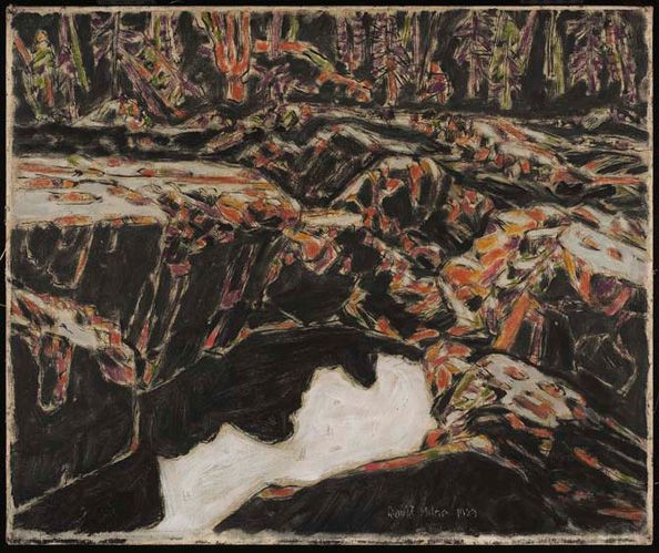 David Milne. The Pool Temagami or Riches, the Flooded Shaft